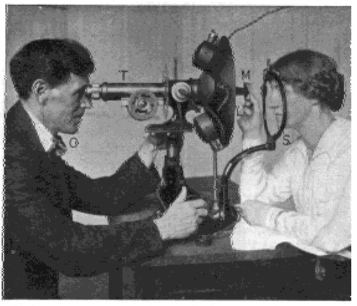 Fig. 33. Demonstrating That the Back of the Lens Does Not Change During Accommodation